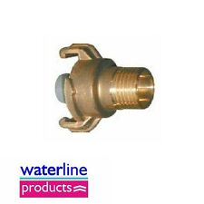 """Original Geka Hose Fittings Quick Couping Water Stop BSP Male: 3/4"""""""