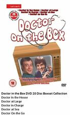 DOCTOR IN HOUSE ON THE BOX DVD SET COMPLETE COLLECTION BARRY EVANS NEW UK