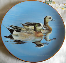 "'WIGEONS' Federal Duck Stamp Plate (8.5"" 1991) w/COA by William Morris"