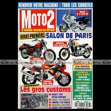 MOTO 2 N°67 LAVERDA 650 YAMAHA 1200 VMAX XV VIRAGO 1100 HONDA VT C SHADOW 1995