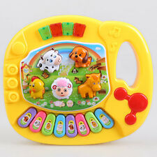 Musical Bildungs Animal Farm Piano Baby Kinder Tastatur Entwicklungsbiologie