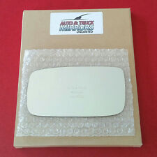 NEW Mirror Glass + ADHESIVE VOLVO 240 S90 V90 940 960 Driver Side **FAST SHIP**