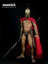 MOMTOYS 1/6 Scale Ancient Greek Warrior Wolf King Leondias Sparta 300 Spartan