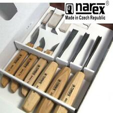 NAREX 894610 STANDARD 6 PIECE CARVING SET WOOD TOOL WHITTLING CHIP CARVERS