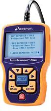 Actron Diagnostic Scan Tool Autoscanner Plus OBD II Cable Reads ABS Codes Each