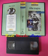 VHS film ALBA TRAGICA Marcel Carne' 1995 PANTMEDIA maestri cinema (F82) no dvd