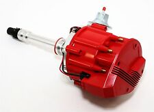 New 305 327 350 400 454 Chevy HEI Distributor Complete w/ Red Cap - SBC BBC V8