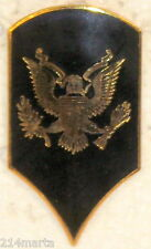 US ARMY SPECIALIST 3RD CLASS OR 4 SHINY RANK INSIGNIA FOR HAT CAP OBSOLETE
