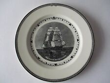 """WEDGWOOD 9"""" PLATE - AMERICAN CLIPPER SHIPS - WITCH OF THE WAVE"""