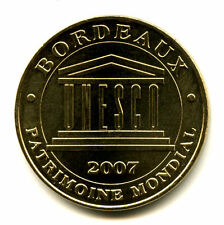 33 BORDEAUX Patrimoine mondial de l'Unesco, 2008, Monnaie de Paris