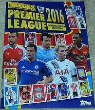 Complete album 2015/2016 Topps Merlin Premier League sticker collection