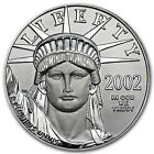 2002 1 oz Platinum American Eagle Coin - Brilliant Uncirculated - SKU #25773
