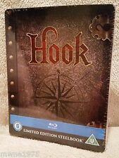 HOOK *Peter Pan* *Robin Williams* Blu-Ray UK Exclusive Limited Edition STEELBOOK