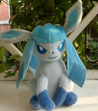 """New POKEMON Grass  Glaceon 8"""" tomy Plush Doll Toy Figure Collectible CUTE"""