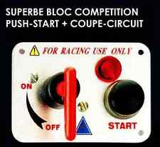 Bloc Push-Start + Coupe Circuit RAID 4X4 HDJ KDJ PATROL LAND JEEP PAJERO HUMMER