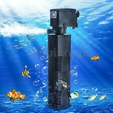 Aquarium 1200L/H Water Power Spray Filter Fish Tank Internal Submersible Pump