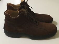 Mens Climatizzata Valleverde Boxter Brown Italian Leather Ankle Boots 43 10
