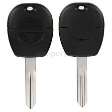 2 BUTTON REMOTE KEY FOB CASE SHELL UNCUT FOR NISSAN MICRA ALMERA PRIMERA XTRAIL