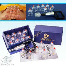 Cupping Vacuum bell HANSOL BU - Hang 10 Cupping set Suction glasses LGL vacuum