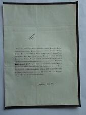 Louis-Joseph GUY Député 1864 CHASSIGNAT DREUX JULLIEN LEFRANC BILLET LEFEBURE