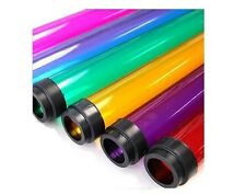 """T12 8' COLOR 96"""" Tube Guard Fluorescent Plastic Light Cover Sleeve NEW (QTY 24)"""