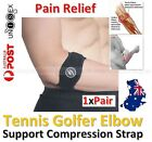 1xPair Tennis Golfers Elbow Support Brace Strap Forearm Protection Pain Relief