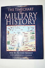Timechart of Military History 3000BC to the Present published 99  Reference Book