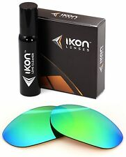 Polarized IKON Iridium Replacement Lenses For Oakley Monster Dog Emerald Mirror