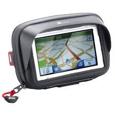 GIVI S953 CUSTODIA IMPERMEABILE PORTA SMARTPHONE NAVIGATORE GPS ATTACCO MANUBRIO