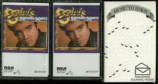 Elvis Presley 50 Years 50 Hits USA Cassette 2 Tape set NEW RCA SVK2-0710P1, P2