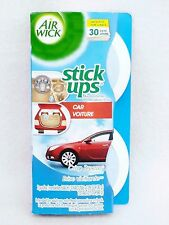 2 Air Wick Stick Ups Fresheners CRISP BREEZE Car (1 pack)