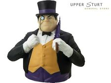 New - Penguin Bust Bank DC Comics Money Box FAST 'N FREE DELIVERY