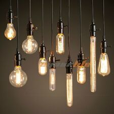 E27 60W Filament Light Bulbs Vintage 110V Tungsten Industrial G125 Edison Lamp