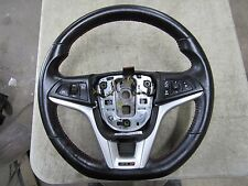 2013-2015 Camaro ZL1 OEM Factory Steering wheel Red Stitching manual 6-sp 5B6