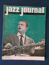Jazz Journal May 1957 magazine. Gerry Mulligan on cover.