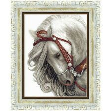 Counted Cross Stitch Kit ASH HORSE Animals