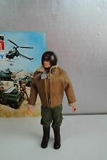 ACTION MAN  VINTAGE PALITOY ' TANK COMMANDER   'PAINTED HEAD FIGURE