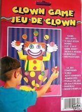 Clown Circo Gioco Per Festino Bambini Compleanno (perno Il Coda Su Asino)