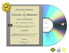Genealogy and biography of the state of Pennsylvania 2 Volume set Books On CD