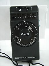 VIVITAR ELECTRONIC FLASH METER 2 WITH STRAP