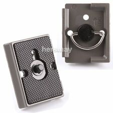 Quick Release Plate for Manfrotto Tripod Ballhead 200PL-14 804RC2 484RC2 391RC2