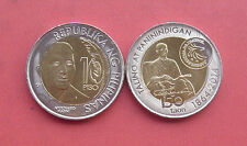 Philippines 2014 150th Annv. of Andrés Bonifacio birth 10 Piso Bimetallic Coin