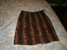 Northern Reflections ladies brown skirt size 6
