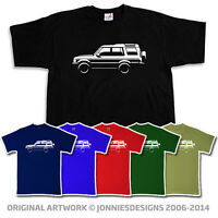 LAND ROVER DISCOVERY SERIES 2 INSPIRED T-SHIRT - CHOOSE FROM 6 COLOURS (S-XXXL)