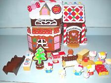 Hello Kitty & Miffy Christmas Ginger Bread con stoffe & House 8 Kittys