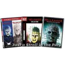 Hellraiser 1 2 3 4 5 6 7 8 9 Hellbound Revelations Complete Series on DVD NEW!