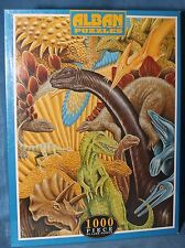 JURASSIC DINOSAURS DINO WORLD Puzzle jigsaw 1000 pieces ALBAN PUZZLES NEW SEALED