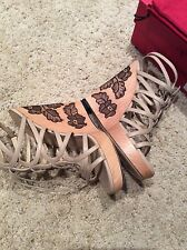 Valentino wedges with lace details, size 40, retail for 1095$