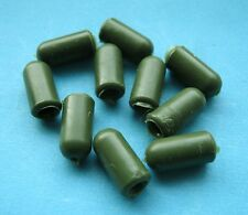 10 X RUBBER BULLET BUFFER SHOCK BEADS FOR HELICOPTER RIGS, PROTECTING SWIVELS