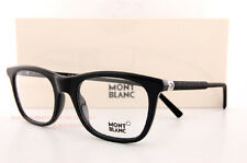 Brand New MONT BLANC Eyeglass Frames 0610 610 005 Black for Men Women